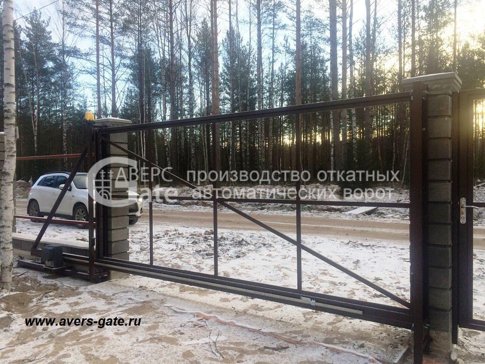 Ворота откатные Белоостров