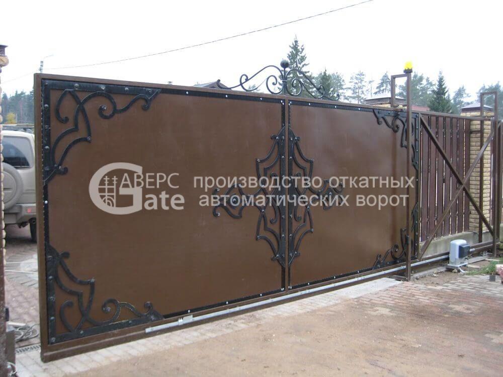 Ворота откатные Удальцово