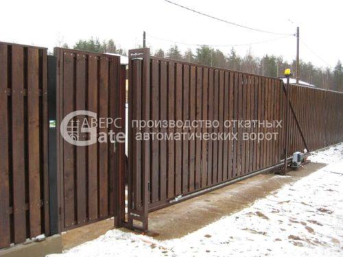 Ворота откатные в Майнило