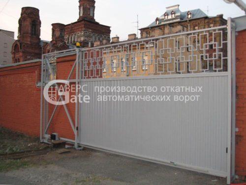 Ворота откатные Боровая СПБ