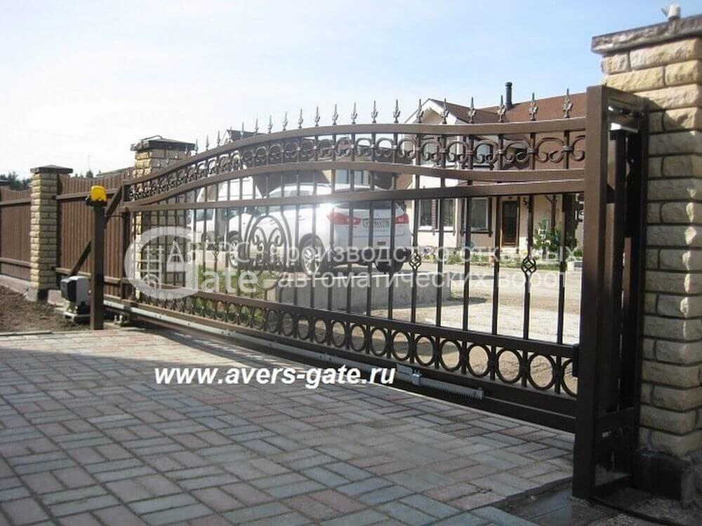 Ворота откатные Корнево