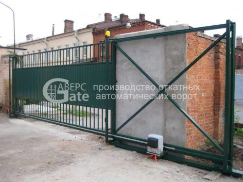 Ворота откатные Ломаная СПБ