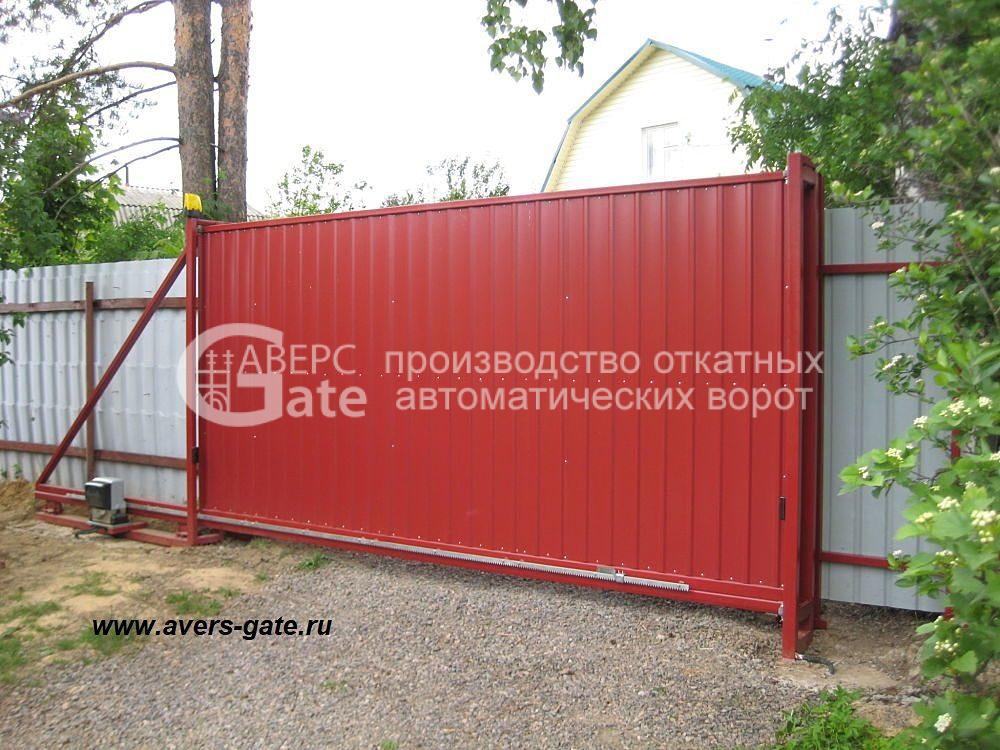 Ворота откатные Медный Завод