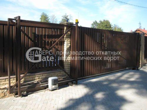 Ворота откатные Токсово