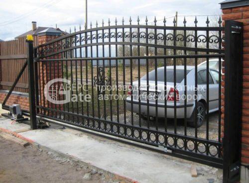 Откатные ворота Пушкин