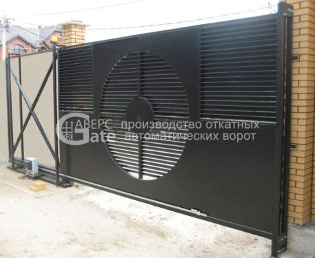 Откатные ворота Сергиево.