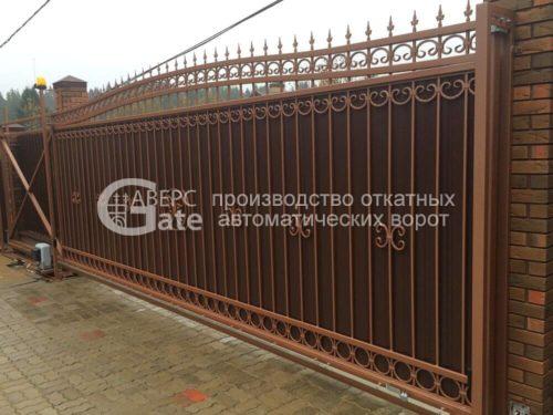 Откатные ворота Сярьги