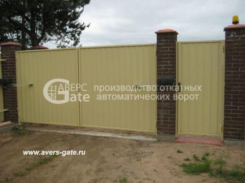 Распашные ворота Левашово