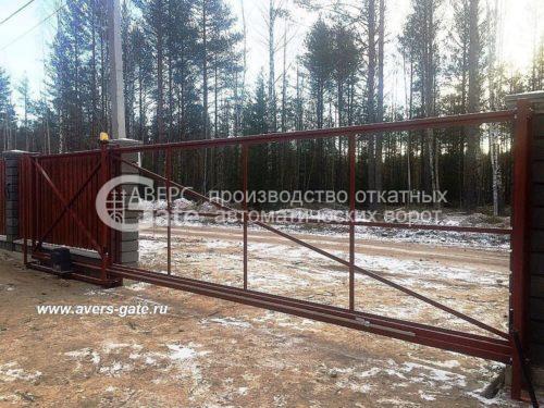 Ворота откатные каркас Белоостров