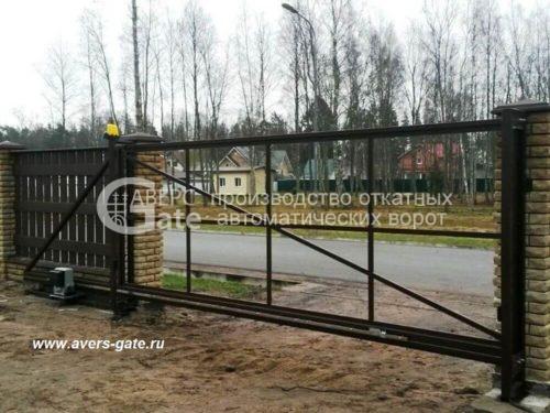 Ворота откатные Зеленогорск