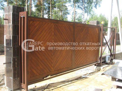 Ворота откатные ЖСК Модуль